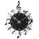 Wall clock | Fashion | Note | Wall hangings clock (silhouette plus) note
