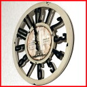 Watch   hanging   fashionable   American gadgets   antique gadgets   old look wall clock Eiffel B