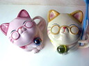 Dentures case-歯入れ put-toothbrush stand-cat-cats-cat-Feng Shui-respect for the aged day-Grandpa-Granny-happy cast dentures pot