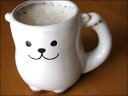 Cute bear beer mug! Shirokuma enticed