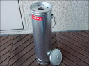 Trash bin with lid stand ashtray with handle stand ashtray