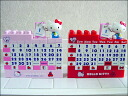 Kitty-hello kitty-Sanrio-perpetual calendar-yearly calendar-Hello Kitty block calendar