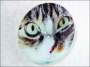 Clock-wall hangings-wall clock-clocks-fashionable-interior-wall & would rock CATS EYE