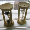 Hourglass three minutes | Glass | Interior | Hourglass approximately three minutes meter