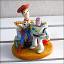 Disney-PVC figure-toy story-TOY STORY-Woody & バスライトイヤー collectible figure