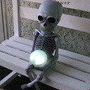 Solar lights-garden lights-eco-lighting-lamps-skeleton beads light