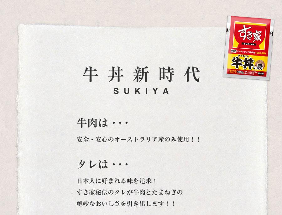 すき家牛丼の具10パックセット