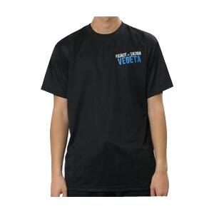 ドラゴンボール ベジータ スポーツTシャツ X513-602 ブラック(黒)・C40 男女兼用 Mサイズ