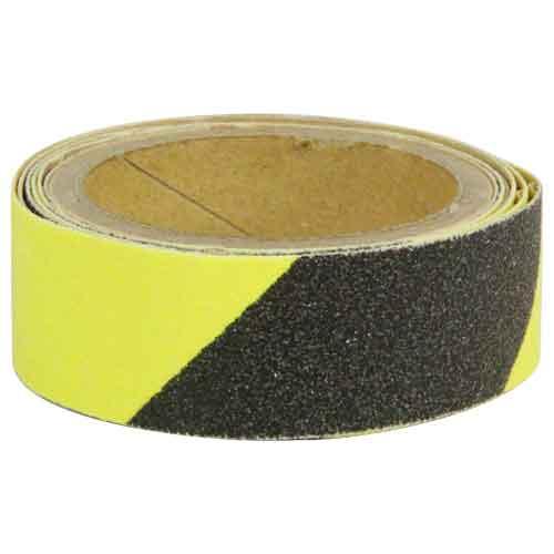 SK11・すべり止めテープR屋外用・ゼブラ・先端工具・保護具・安全用品・安全用品反射材ベスト・DIYツールの画像