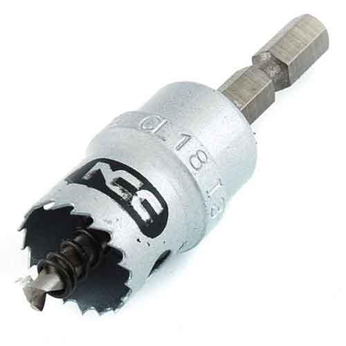 NCC・インパクトホールソーH−CX・18MM・先端工具・鉄工ドリル・ホールソーその他メーカー・DIYツールの画像