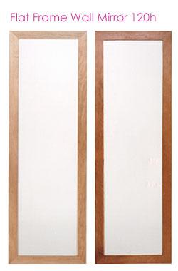 フラットフレームウォールミラー壁掛け鏡