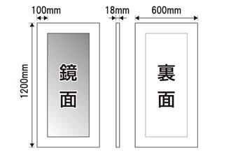 60×120cm,サイズ[送料無料,幅広フレーム,ミラー,鏡,立て掛け鏡]