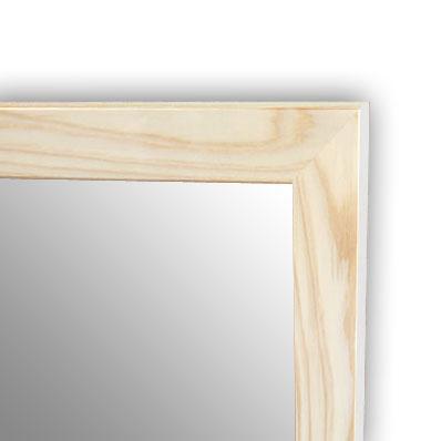 杉フレーム,杉,国産,ミラー,無塗装,60×90cm,鏡