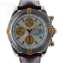 Breitling BREITLING chronometevolution become B13356 automatic winding white shells USED