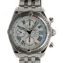 Breitling BREITLING chronometevolution White Roman A13356 self-winding chronograph USED