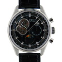Zenith ZENITH Kurono master opening moon phase 03.2160.4047/21.C714 SS 45mm black leather USED