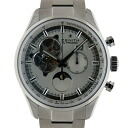 Zenith ZENITH Chrono master open moon phase 03.2160.4047/01.M2160 SS 45 mm silver brand new