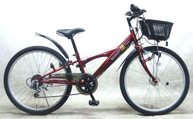 自転車の ルノー 自転車 24インチ : オートライトタイプ 24インチ ...