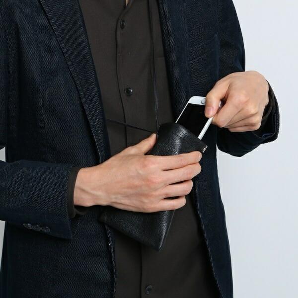 30ee503b0553 ブラック(019) タケオキクチのM革小物(【 WEB限定 】 com-ono for TAKEO KIKUCHI レザー ウォレットショルダー [ メンズ  財布 ミニ財布