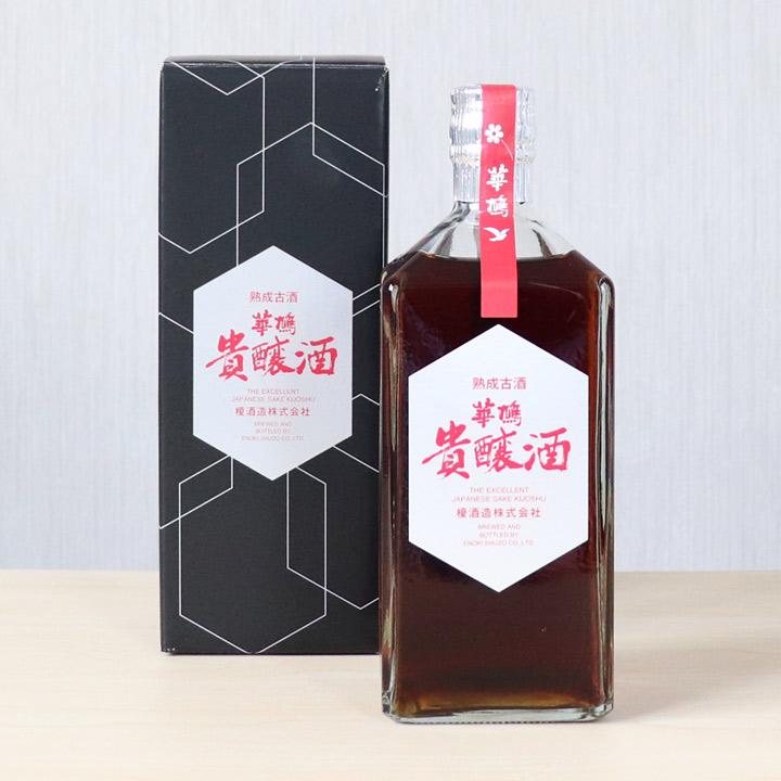 華鳩 貴醸酒8年熟成 亀甲ボトル