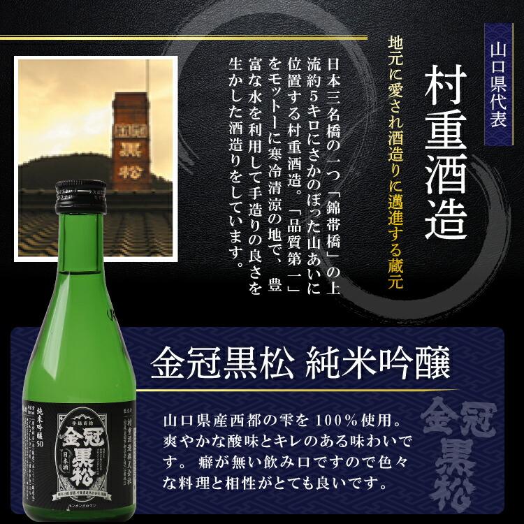 中国5県 中国地方 純米吟醸 日本酒 飲み比べ ギフト 敬老 誕生日 御礼 内祝
