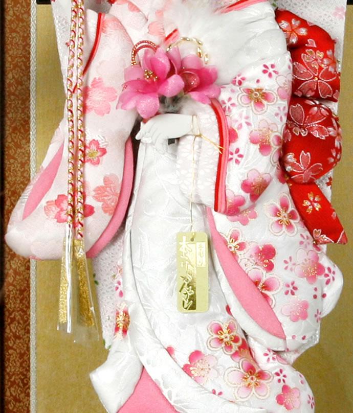 花飾り 押絵羽子板