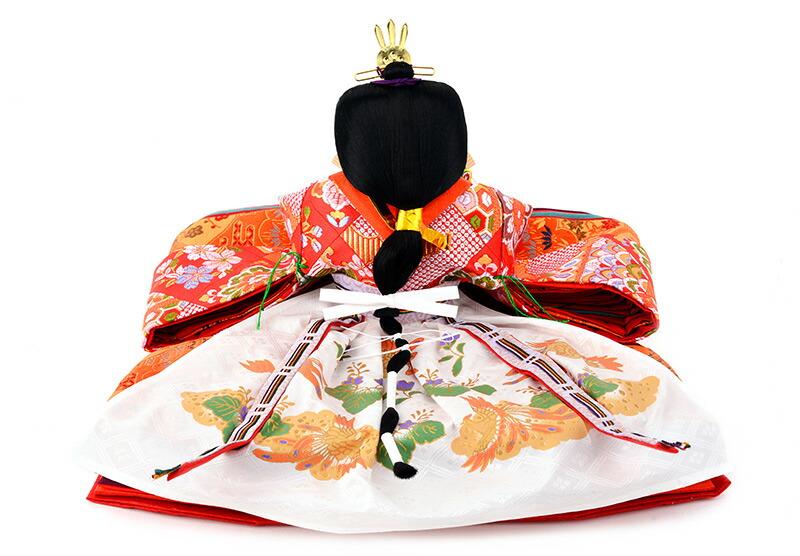 京彩 葡萄塗り 御雛 雅なこころ 木製三段