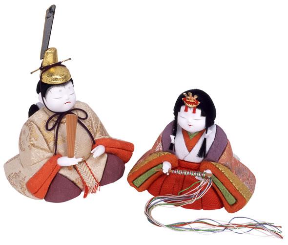 江戸木目込人形 小桜雛