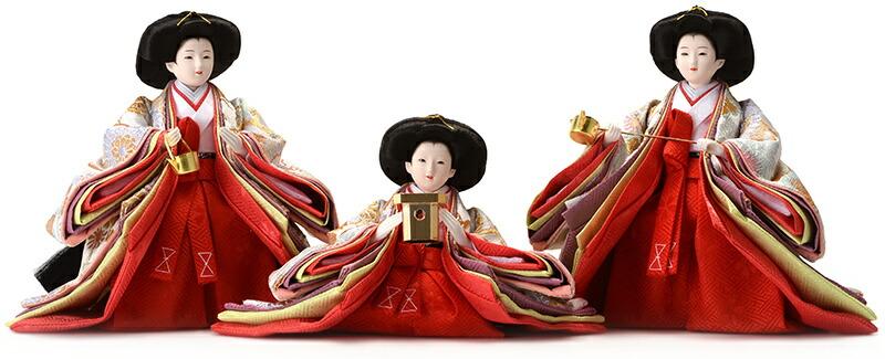 着付 光園 花がすみ 小三五親王 芥子官女 オリジナル頭