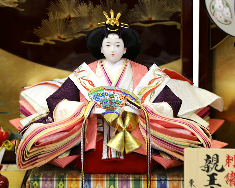 二世光匠作 京九番親王 芥子官女 久月オリジナル頭