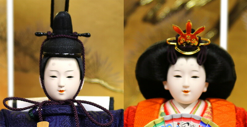 横山薫作 正絹 小三五親王 木胴木手使用 久月オリジナル頭