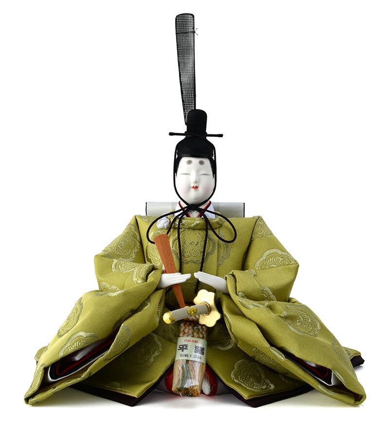 衣装着飾り 翠宝雛 三五親王 B