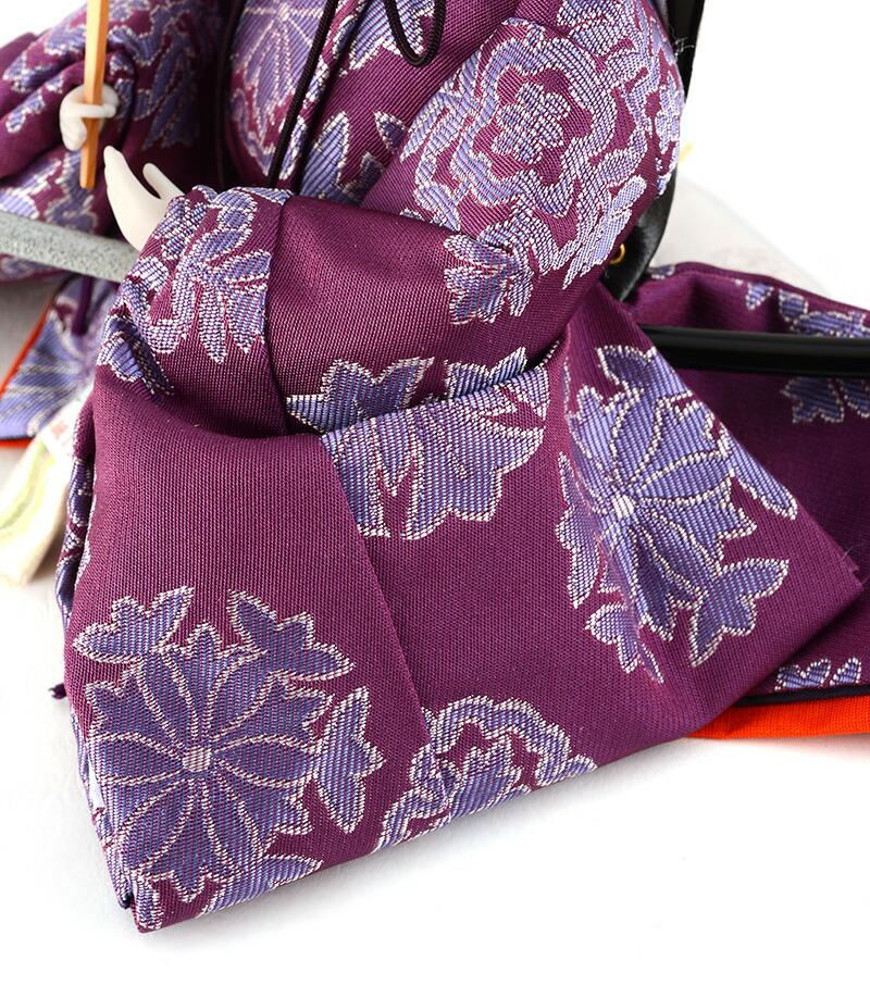 衣装着飾り 紫雲雛 芥子親王 C