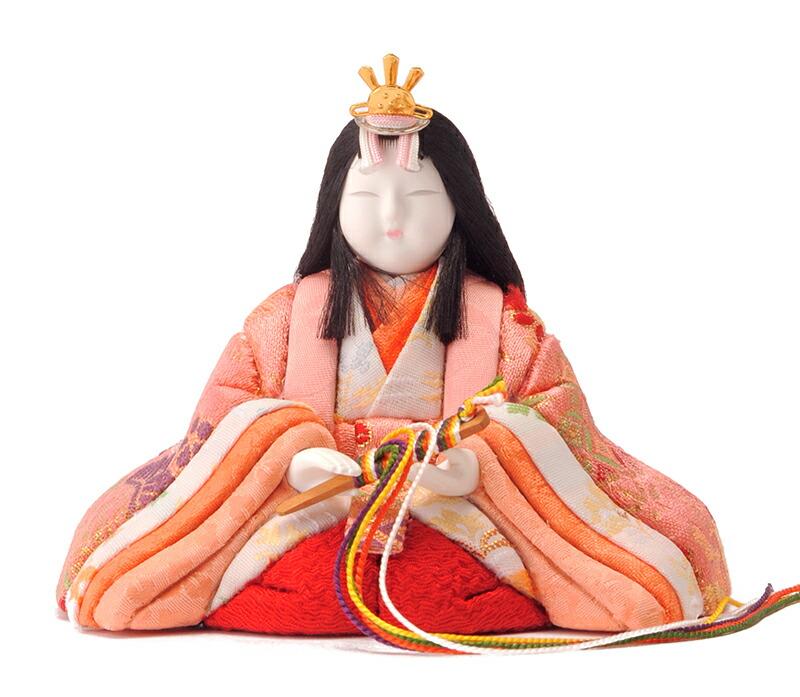 真多呂作 古今人形 桜花雛 アクリルケース