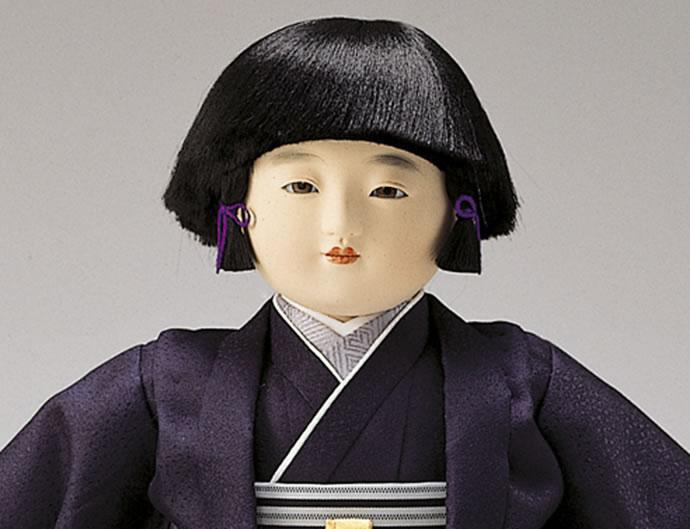 寿喜代作 華鶴12-97 男 正絹刺繍 12号