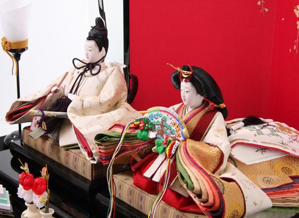 柴田家千代作 古典のお雛様 雛飾り