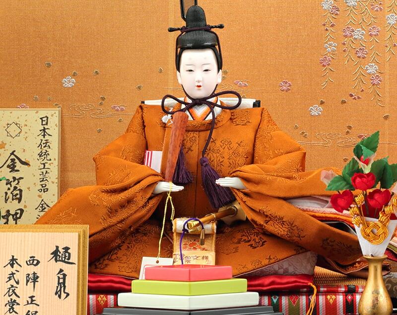 樋泉円作 京十番親王飾り