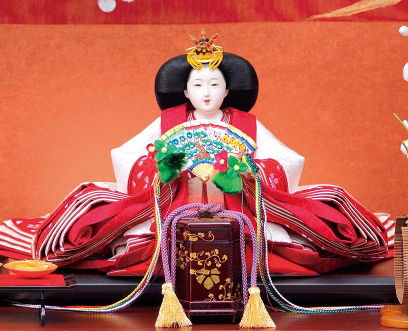 大久保寿峰作 京雛 束帯十二単 正絹 京十番親王