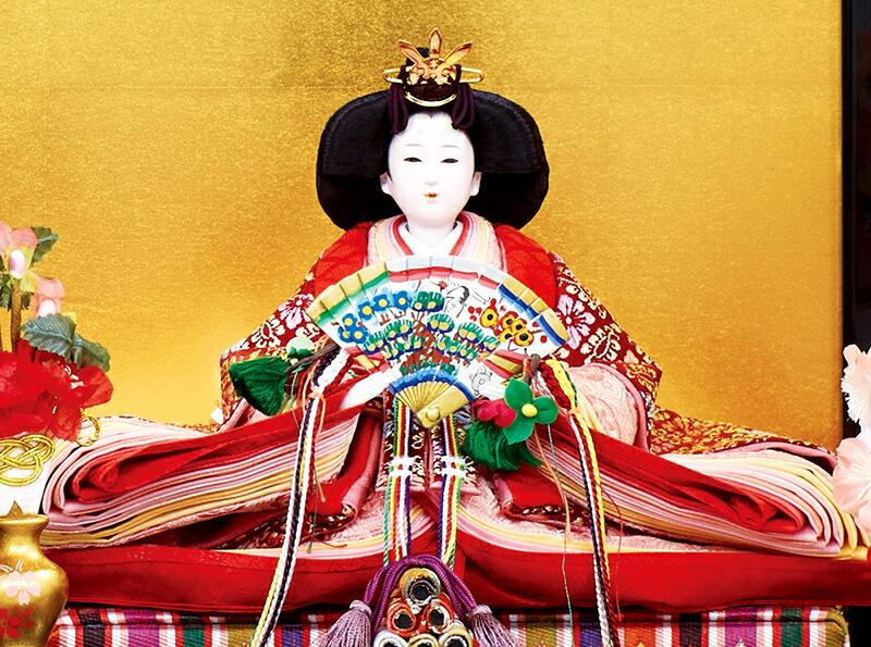 樋泉円作 御雛 正絹 京十一番親王