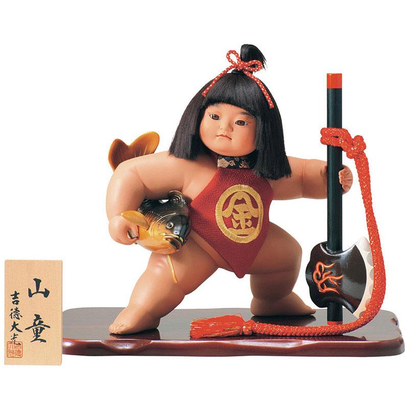 浮世人形 ケース飾り10号 山童
