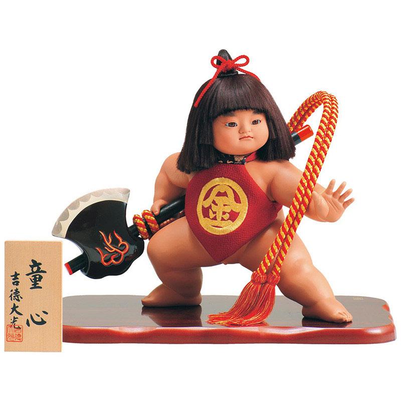 浮世人形 ケース飾り10号 童心