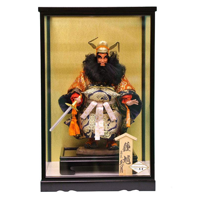 ケース飾り 武者人形4号 極上鍾馗 105ケース入