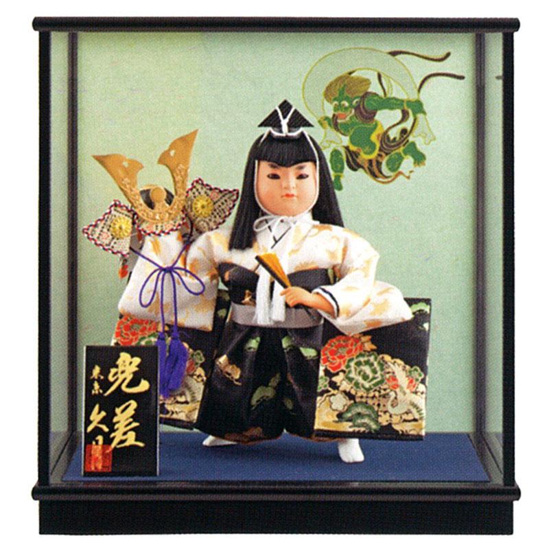ケース飾り 武者人形若龍 兜差 7号 慶印7