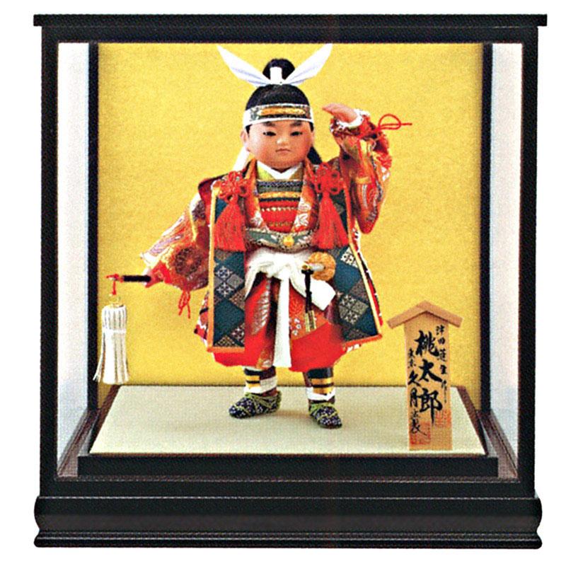 ケース飾り 浮世人形津田蓬生作 8号 津印8