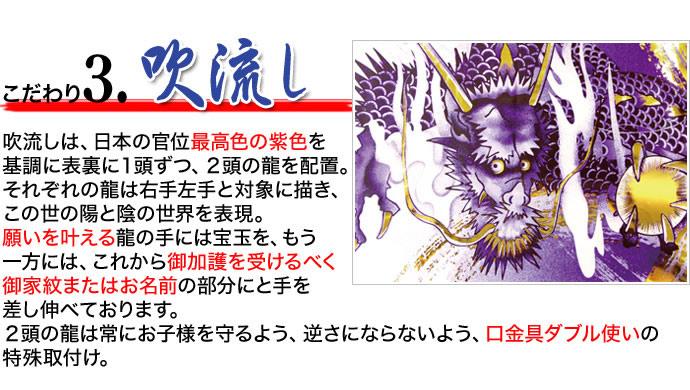皇龍 双龍守護之最上鯉 ポリエステル 家紋・名入可