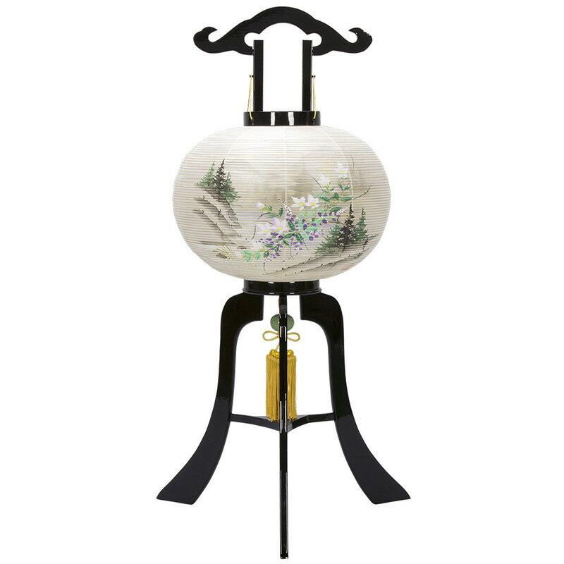 電気コード式 絹製 絹二重 簡単組立 竹ひご巻火袋
