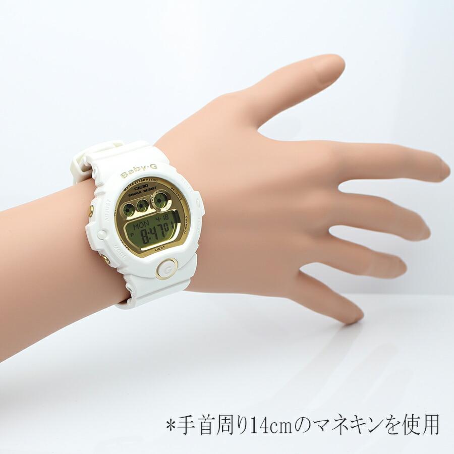 09a4e39fa1a1 Brand, Popular baby-g white / gold! BG-6901-1 babysit CASIO CASIO watch ...