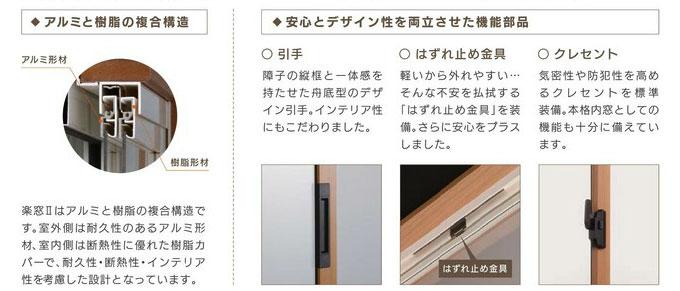 楽窓 Raku-Mado 構造