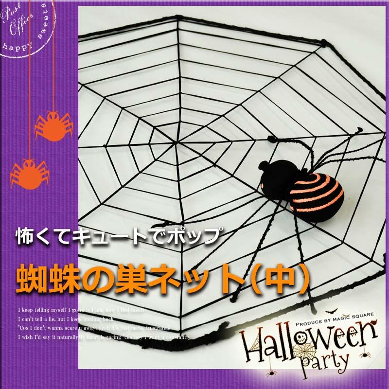クモの巣ネット(中)