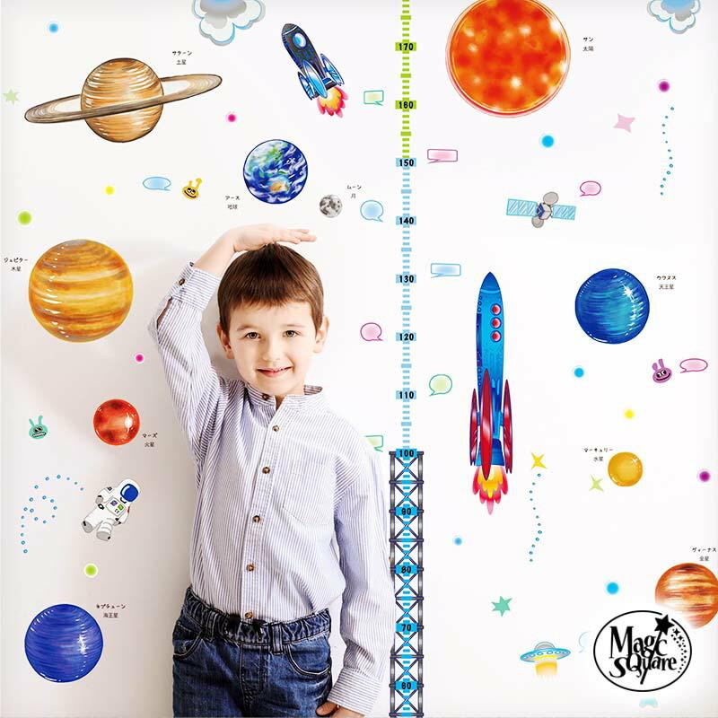 惑星と身長計